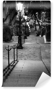 Fototapet av Vinyl Escalier de Montmartre