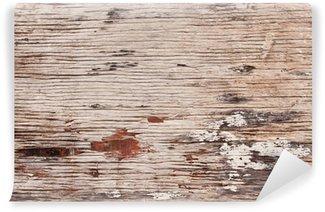 Fototapet av Vinyl Faded Weathered Wood Bakgrund