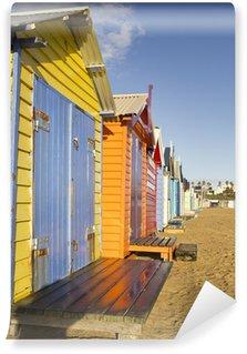 Fototapet av Vinyl Färgrik strand
