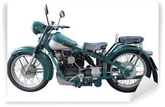 Fototapet av Vinyl Gamle motorsykkel