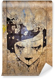 Fototapet av Vinyl Graffiti - street art