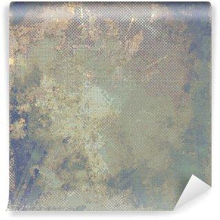 Fototapet av Vinyl Grunge färgrik bakgrund. Med olika färgmönster: gul (beige); brun; blå; grå