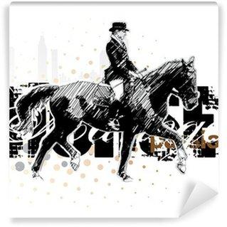 Fototapet av Vinyl Häst 3