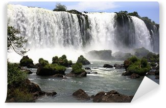Fototapet av Vinyl Iguassu (Iguazu, Iguaçu) Falls - stora vattenfall