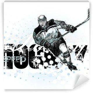 Fototapet av Vinyl Ishockey 2