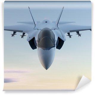 Fototapet av Vinyl Jet F-35 stridsflygplan militär
