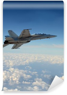 Fototapet av Vinyl Jetfighter under flygning