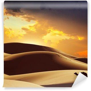 Fototapet av Vinyl Kamel i Sahara, Marocko