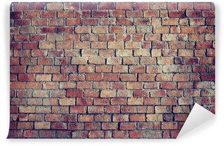 Fototapet av Vinyl Klassiska Vackra Strukturerad Brick Wall