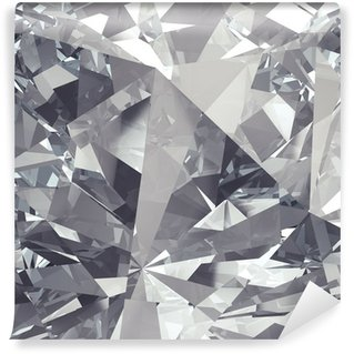 Fototapet av Vinyl Kristall fasett bakgrund
