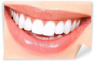 Fototapet av Vinyl Kvinna tänder