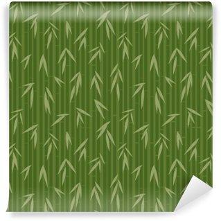 Fototapet av Vinyl Mönster med bambu
