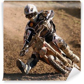 Fototapet av Vinyl Motocross
