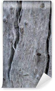 Fototapet av Vinyl Natur abstrakt - Naturligt Weathered Wood