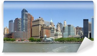 Fototapet av Vinyl New york skyline