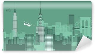 Fototapet av Vinyl NewYork stadsbild