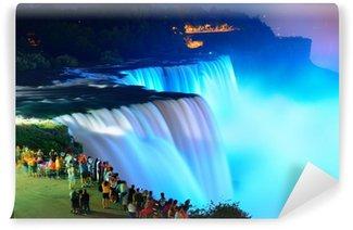 Fototapet av Vinyl Niagara Falls i färger