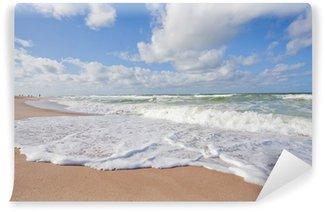 Fototapet av Vinyl Nordsjön stranden Sylt