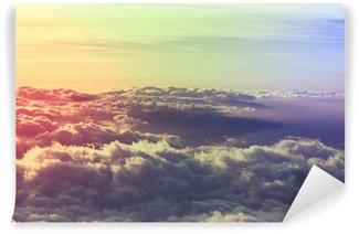 Fototapet av Vinyl Ovan molnen