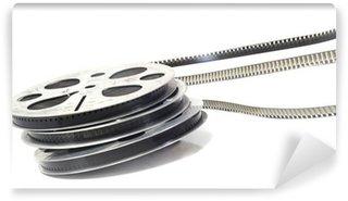Fototapet av Vinyl Pelliculé noir et blanc - film cinéma