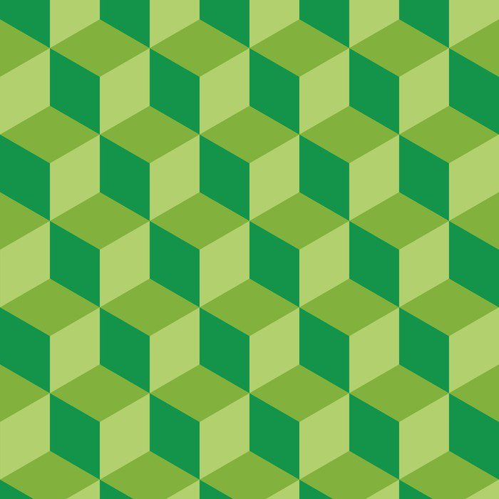 Fototapet av Vinyl Platt design geometrisk rutmönster bakgrund vektor illustration - Grafiska resurser
