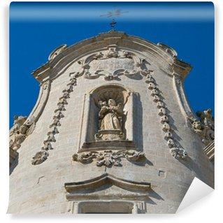 Fototapet av Vinyl Purgatorio kyrka. Matera.