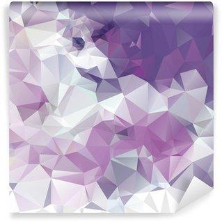Fototapet av Vinyl Sammanfattning polygonala bakgrund
