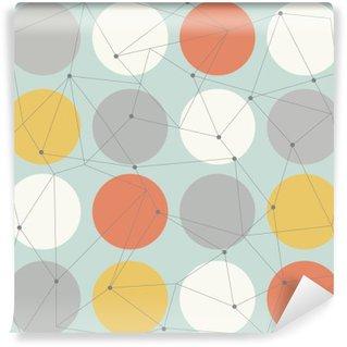 Fototapet av Vinyl Scandinavian geometrisk modern seamless