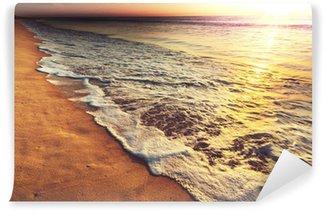 Fototapet av Vinyl Sea solnedgång
