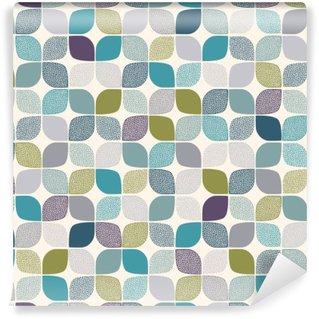 Fototapet av Vinyl Seamless abstrakt dotsmönster