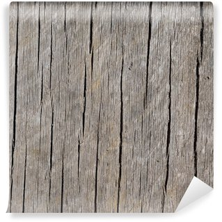 Fototapet av Vinyl Slitna och Weathered vertikal Grained Wood Bakgrund