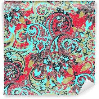 Fototapet av Vinyl Sömlös paisley mönster