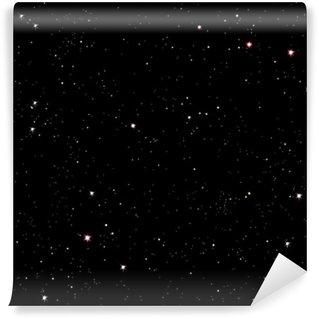 Fototapet av Vinyl Starry natt