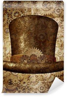 Fototapet av Vinyl Steampunk Top Hat
