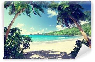 Fototapet av Vinyl Strand, Mahe, Seychellerna