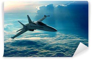 Fototapet av Vinyl Stridsflygplan