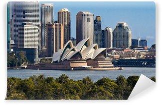 Sydney Opera House og Skyline Vinyl Fototapet