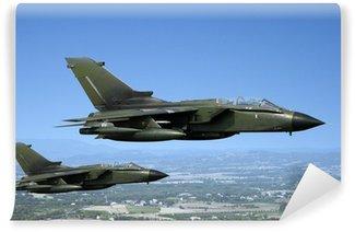Fototapet av Vinyl Två stridsflygplan