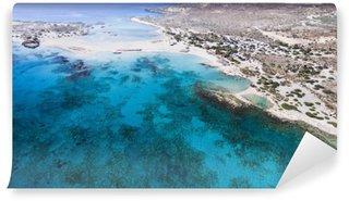 Fototapet av Vinyl Vacker utsikt över klippor vid stranden