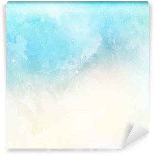 Fototapet av Vinyl Vattenfärg textur bakgrund