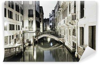 Fototapet av Vinyl Venedig på natten