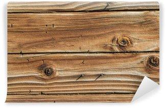 Fototapet av Vinyl Weathered Wood Bakgrund 3