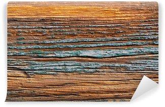 Fototapet av Vinyl Weathered Wood Bakgrund Texture