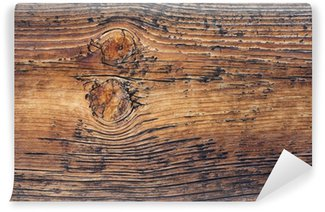 Fototapet av Vinyl Weathered Wood Bakgrund