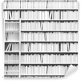 Vinylová Fototapeta 本 棚 と は し ご