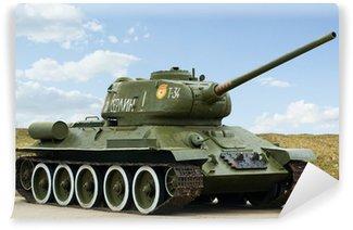 Vinylová Fototapeta 2. světová válka ruský tank T34