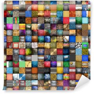 Vinylová Fototapeta 225 fondy koláž