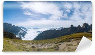 Vinylová Fototapeta 360 ° panorama záběr Dolomity