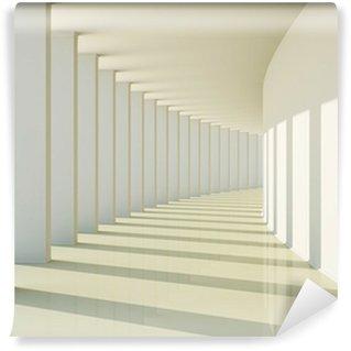 Fototapeta Winylowa 3D abstrakcyjny korytarz