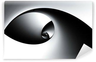 Vinylová Fototapeta 3D Abstraktní spirála